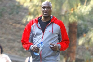 51665139 NBA star Lamar Odom works up a sweat on a hike at Fryman Canyon Park in Studio City, California on February 25, 2015. Rumors are swirling that Lamar is secretly seeing his ex Khloe Kardashian and that Khloe is hiding her forbidden romance from her family. FameFlynet, Inc - Beverly Hills, CA, USA - +1 (310) 505-9876
